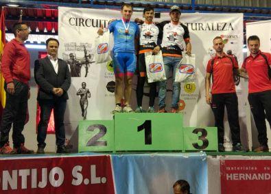 Carlos González Ramos alcanza la primera posición en Élite en el Campeonato BTT de Extremadura