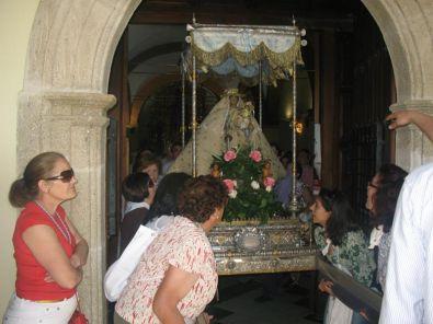 La bajada de la Virgen a Coria será mañana jueves