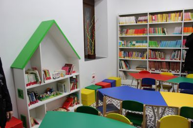 Sala infantil Ludoteca Municipal de Coria