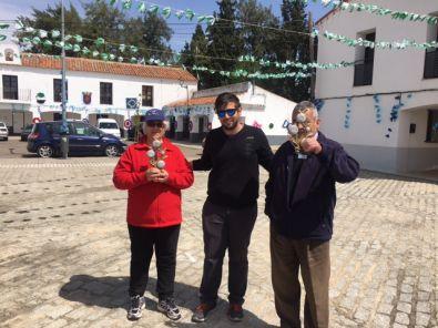Jacinto Femia y Luisa González ganan el Torneo de Petanca de Rincón del Obispo