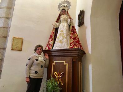 Nuestro objetivo como Cofradía es acercar la imagen de la Virgen a más personas y que haya más participación en las parroquias