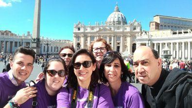 Las catequistas de Coria visitan Roma
