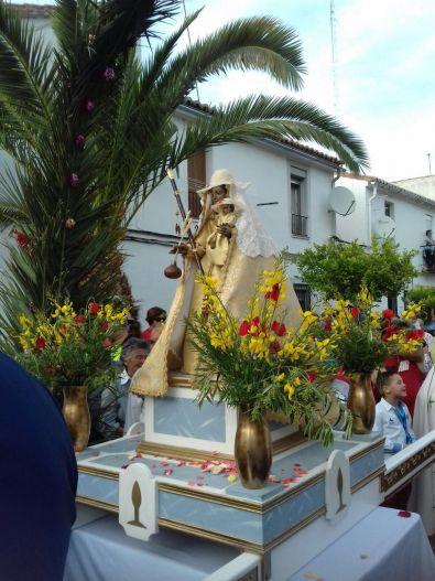 Esta tarde se trasladará a la Virgen a la iglesia de San Ignacio