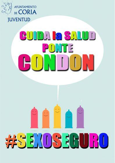 El Ayuntamiento lanza una campaña dirigida a los jóvenes sobre el uso del preservativo
