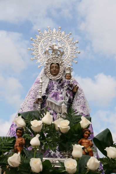 La Patrona de Coria estará en las dos parroquias durante su visita a la Ciudad