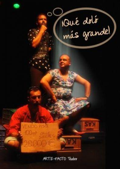 """¡Qué doló ma grande! abre el XXIII Certamen de Teatro no profesional """"Ciudad de Coria"""""""