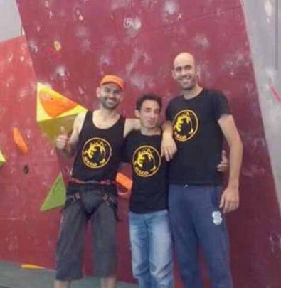Tres integrantes del Grupo Escalada Coria consiguen pódium en una competición a nivel regional