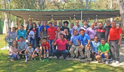 El Club de Tenis Cauria organizó una convivencia deportivo-gastronómica