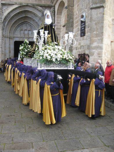 La Semana Santa Cauriense inicia hoy Viernes de Dolores
