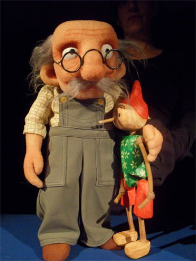 Marionetas de la obra