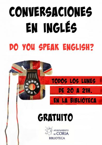 La Biblioteca Municipal ofrece tertulias para practicar inglés