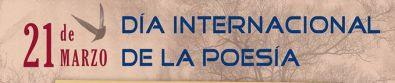 Organizan varias actividades con motivo del Día Internacional de la Poesía
