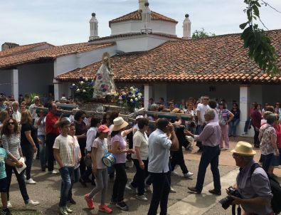 La Morenita ya está en su Santuario